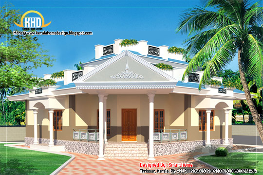 1 storey 4 bedroom villa -  147 Square Meter (1590 Square Feet) - February 2012
