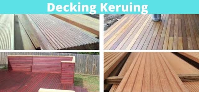 decking keruing