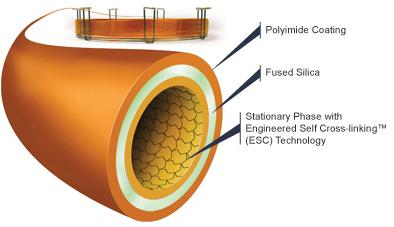 Gas Chromatography Capillary column.