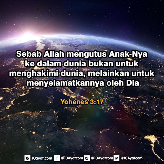 Yohanes 3:17
