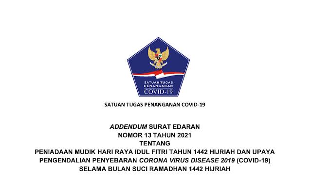 Perketat Aturan Perjalanan, Satgas COVID-19 Terbitkan Adendum SE 13 Tahun 2021