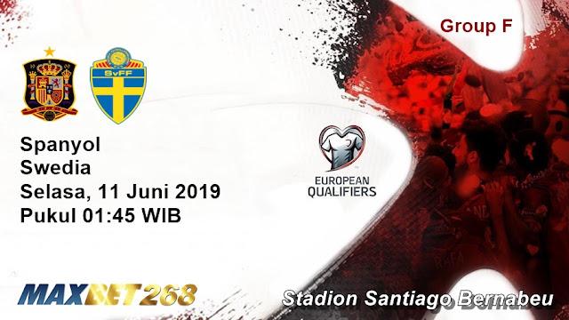 Prediksi Spanyol Vs Swedia, Selasa 11 Juni 2019 Pukul 01.45 WIB