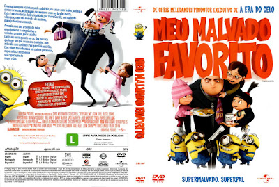 Filme Meu Malvado Favorito DVD Capa