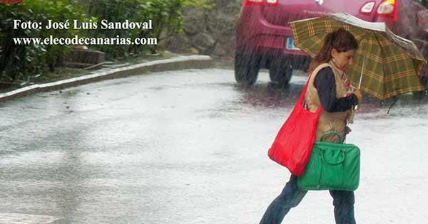 Máxima alerta por lluvias en La Palma, El Hierro y la Gomera