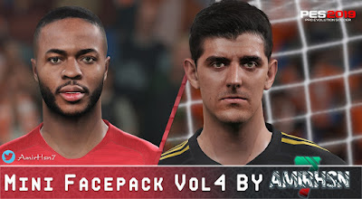 PES 2019 Mini Facepack Vol 4 by Amir.Hsn7