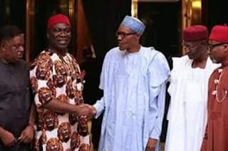 Biafra: Igbo Senators meet Buhari over IPOB, Nnamdi Kanu