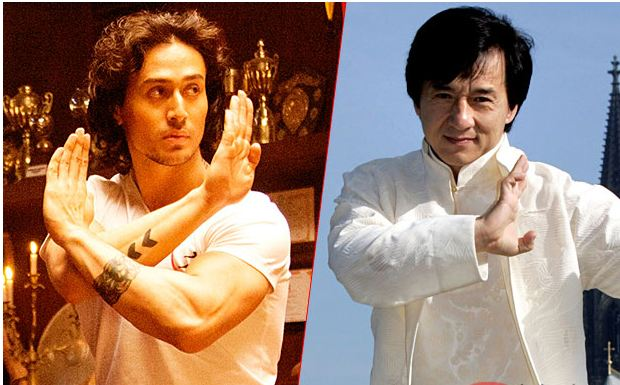 Swp jackie chan shocked curious about bollywood 39 s tiger for Tiger shroff tattoo