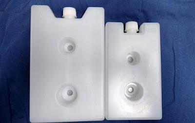 ice packs 600 mL 400 dos huecos para vaccine carrier azul aov 1.7 l 2.7