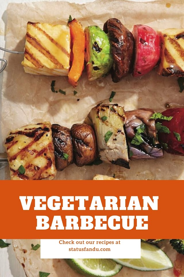 How to Make Vegetarian Barbecue Recipe | Tandoori Vegetable Recipe