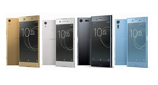 These are 2017 Sony Xperia Smartphones!