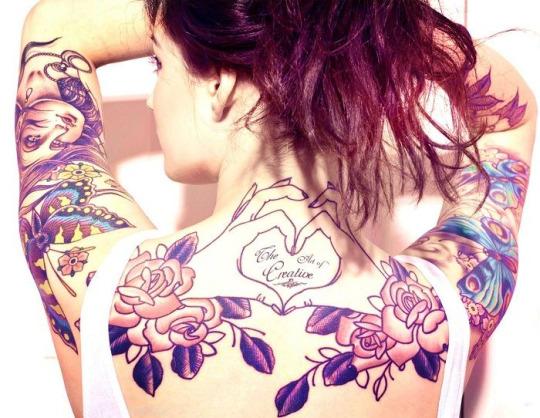 Stunning heart tattoos For Girls