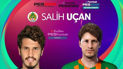 PES 2021 Faces Salih Uçan by PES Football Turkey