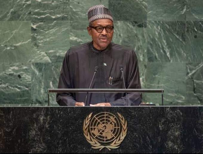 UNGA76: Buhari Declines to Tag IPOB Terrorists Organization During Speech