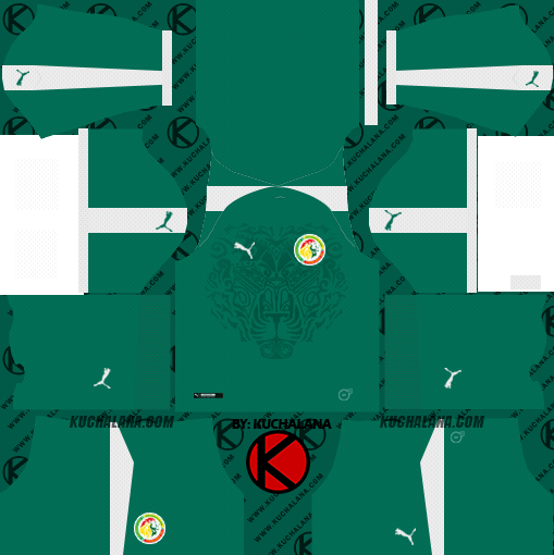 6a41f8bc62b Senegal 2018 World Cup Kit - Dream League Soccer Kits - Kuchalana