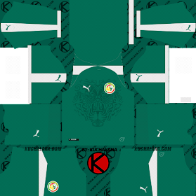 Senegal 2018 World Cup Kit -  Dream League Soccer Kits