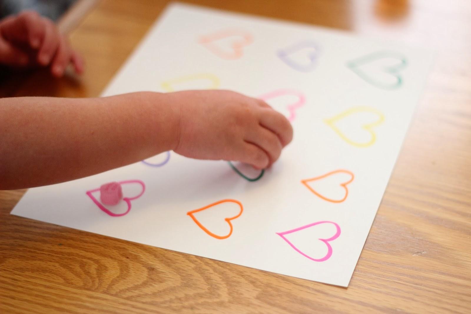 Pattern Candy Heart Worksheet