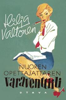 Hilja Valtonen - Nuoren opettajattaren varaventtiili -kirjan kansi
