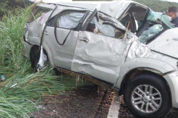 Rio do Antônio: Mulher de 62 anos morre em acidente na BR-030 no Distrito de Ibitira