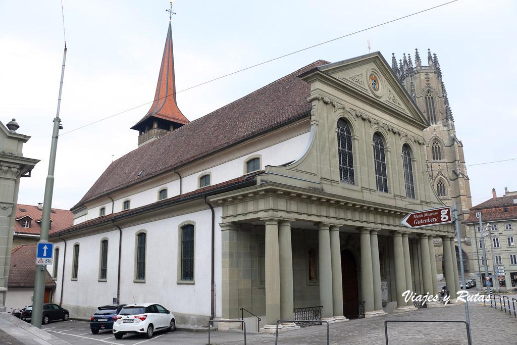 Basílica de Notre Dame de Friburgo