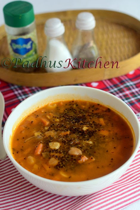 Quinoa Soup-Vegetables Quinoa Soup Recipe