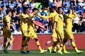 برشلونة يعود بفوز ثمين امام خيتافي رغم غياب ميسي وفاتي وديمبلي