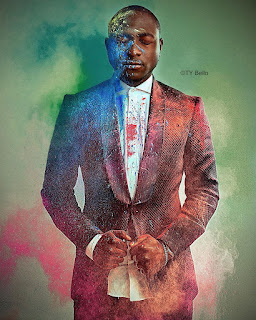 See Crazy thing Davido did in Ty Bello's Studio (video)