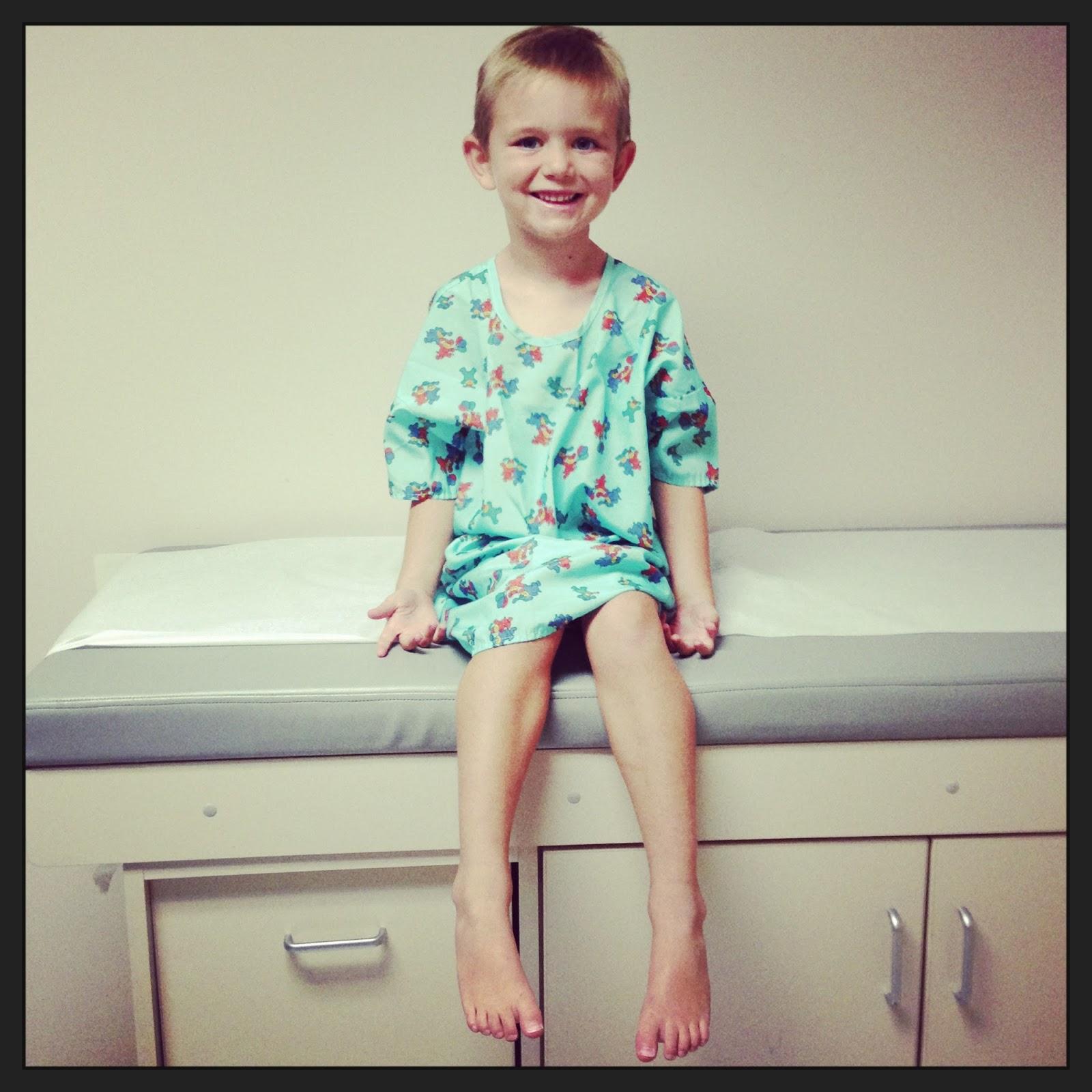 Melissa Sniff Pre Kindergarten Doctor Appointment