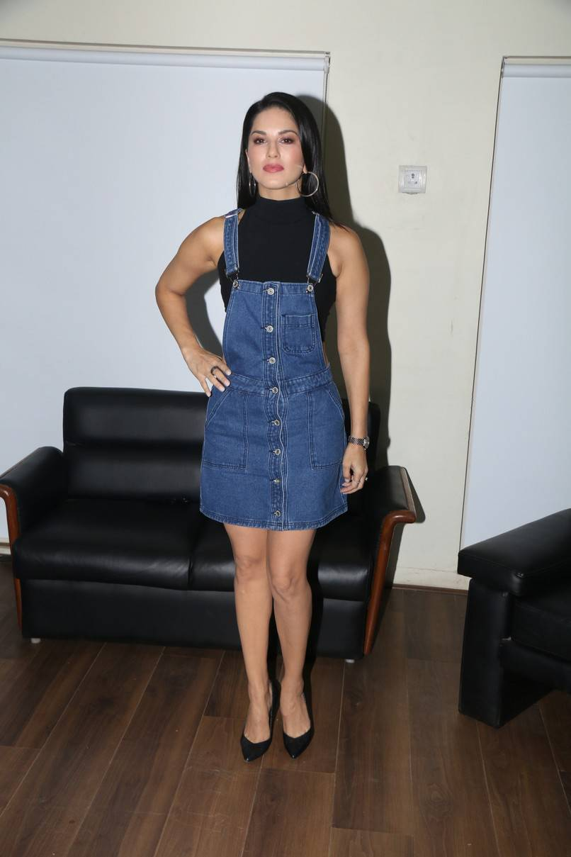 Sunny Leone Stills At T Series Office