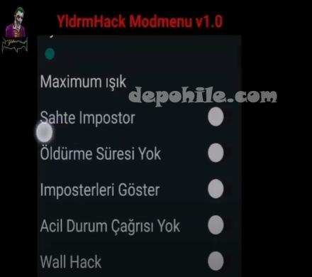 Among Us Yldrm Mod Menu Türkçe VIP Hilesi İndir Apk 2020
