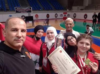 المصارعة الأنثوية السورية تنتزع المركز الثالث في دورة بيروت الدولية والمدربة مرح ارمنازي تتألق عالميا