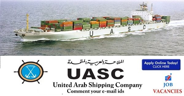 United Arab Shipping Company Careers Openings - Gulf Job