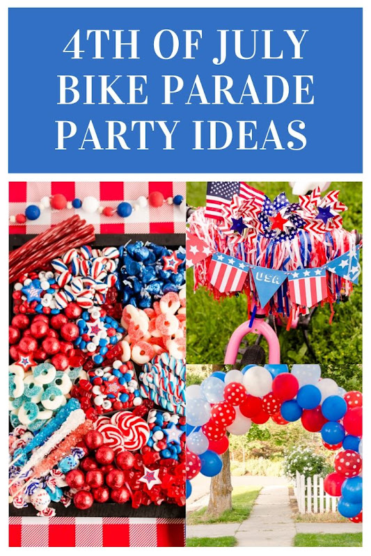 4th of July Bike Parade Party Ideas