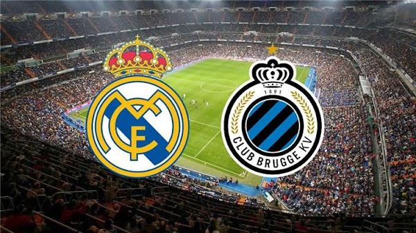نتيجة مباراة ريال مدريد وكلوب بروج بث مباشر  دوري ابطال اوروبا 1-10-2019