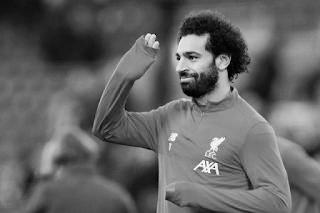 محمد صلاح في مباراة كريستال بالاس ضد ليفربول محل شك