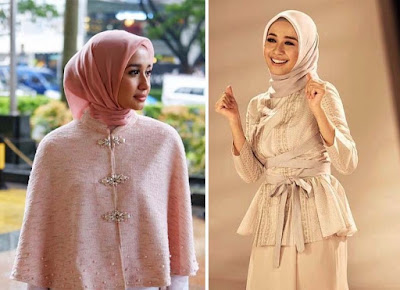 model hijab laudya chintya bella terbaru