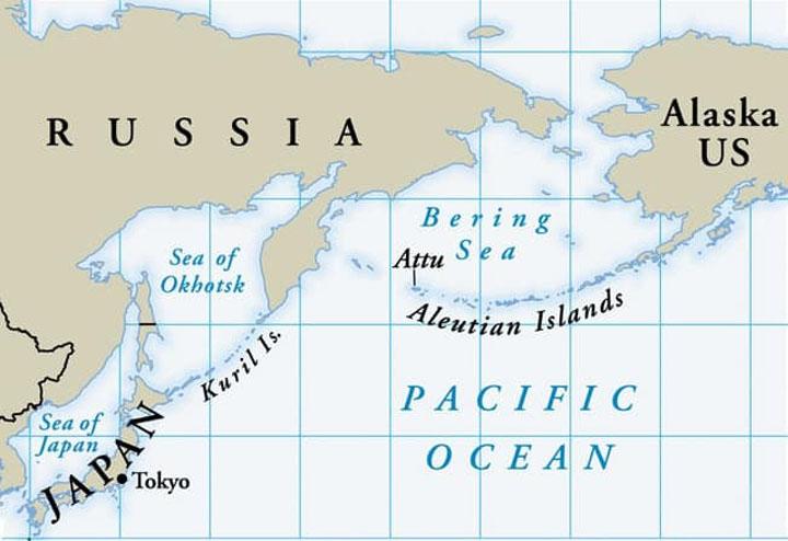 Serangan ke atas Aleutian Islands