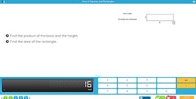 Тренажер вычисления площади прямоугольника и квадрата
