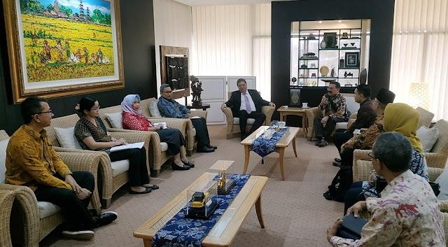 Mantapkan Persiapan RLF, Kappija-21 Adakan Kunjungan ke Menteri Perindustrian