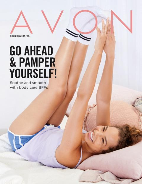 AVON BROCHURE CAMPAIGN 15 2020 - GO AHEAD & PAMPER YOURSELF!