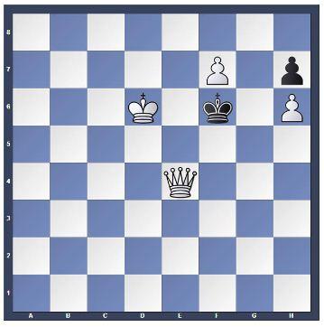 Permainan Catur 1 Langkah Mati