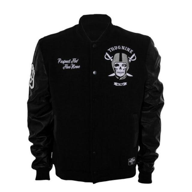 Compre agora jaqueta Thug Nine Varsity New