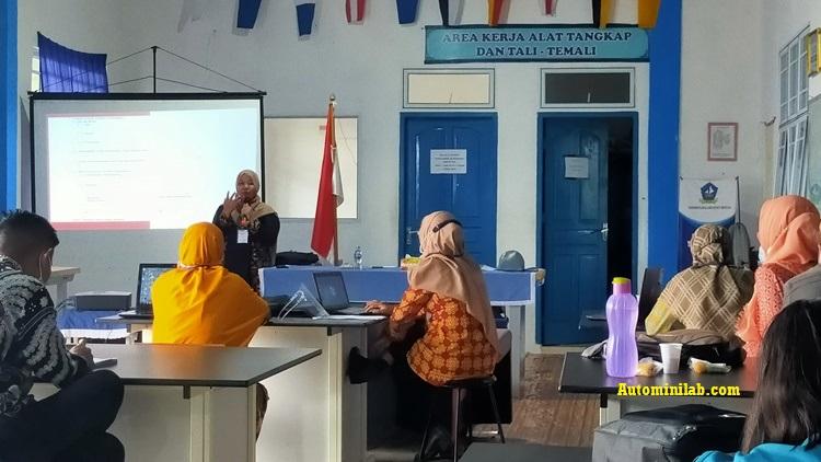 IHT Persiapan Pembelajaran Tatap Muka Semester Genap T.A 2020/2021 di Era New Normal dan Penyusunan RPP Merdeka Belajar SMK Negeri 1 Seri Kuala Lobam
