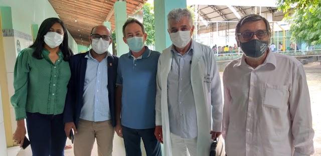 Secretário de Saúde e vice-prefeito, Dr. Zé Filho, fala sobre a situação de Itapicuru em relação ao covid