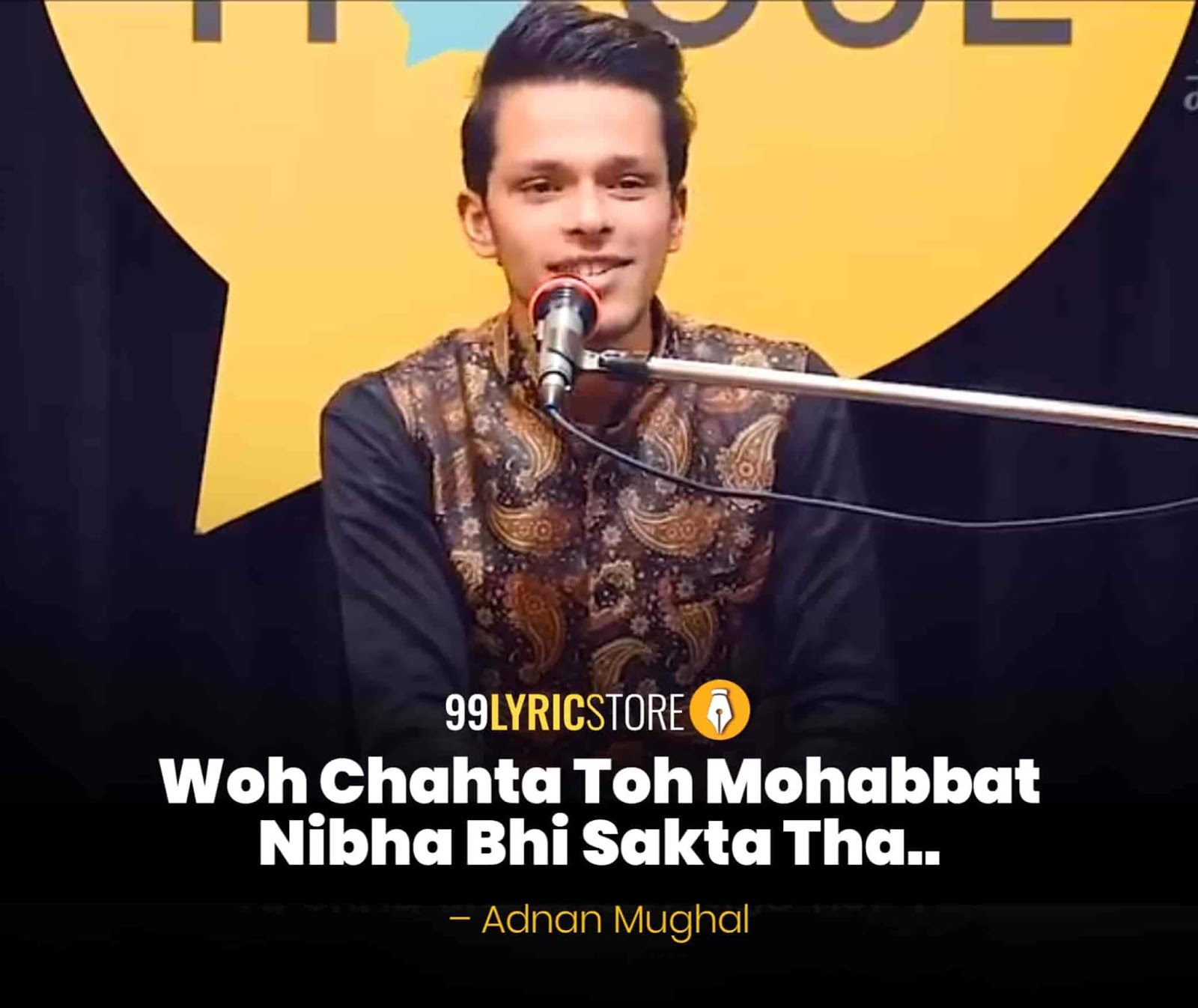 About This Poetry :- This beautiful Proposal Poem  'Woh Chahta Toh Mohabbat Nibha Bhi Sakta Tha' for The Social House is performed by Adnan Mughal and also written by him which is very beautiful a piece.