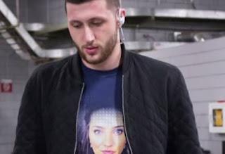 Jusuf Nurkic Wore His Girlfriend Emina Duric T Shirt