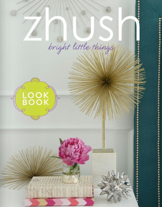zhush.com look book cover page