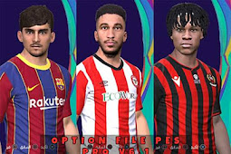 New Option File For PES Professional Patch V6.1 - PES 2017