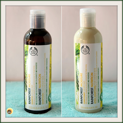 Review of The Body Shop Rainforest Moisture Shampoo & Conditioner For Dry Hair