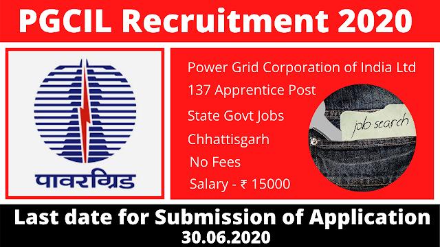 PGCIL Recruitment 2020