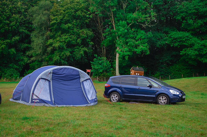 camping with kids, bedgebury campsite, family travel blog, eurohike air tent